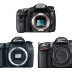 Sony A77 II vs Canon EOS 70D vs Nikon D7100 Specifications Comparison