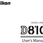 Nikon D810 User Manual Now Available Online
