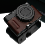 Sony RX100 III Genuine Leather Camera Half Cases