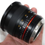 Samyang 50mm f/1.4 AS UMC Full-frame Lens Announced