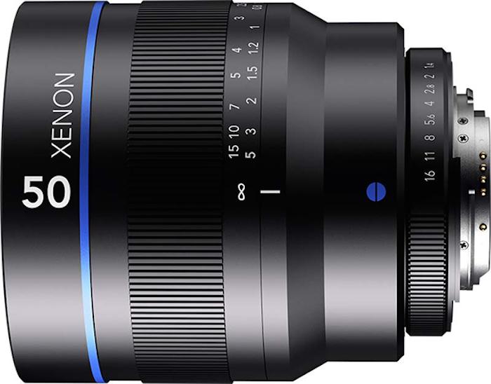 Schneider-Kreuznach-Xenon-50mm-f1.4-lens