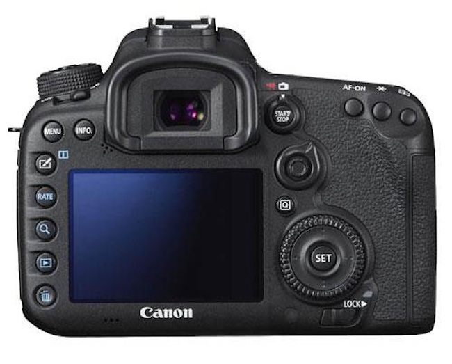 canon eos 7d mark ii more images back