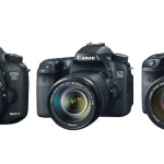 Canon EOS 7D Mark II vs 70D vs 7D Specifications Comparison