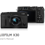 Fujifilm X30 User's Manual Available Online