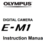 Olympus E-M1 User's Manual Updated With Firmware 2.0 New Features