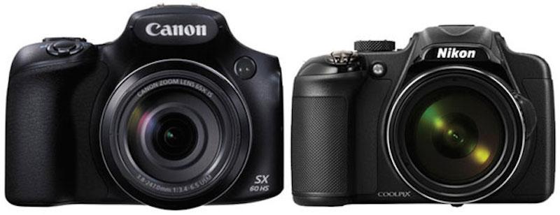 canon-sx60 hs vs nikon p600