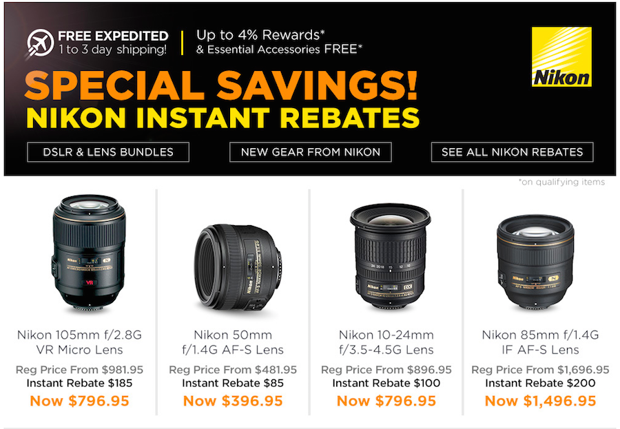 new-instant-rebates-on-nikon-lenses-and-cameras