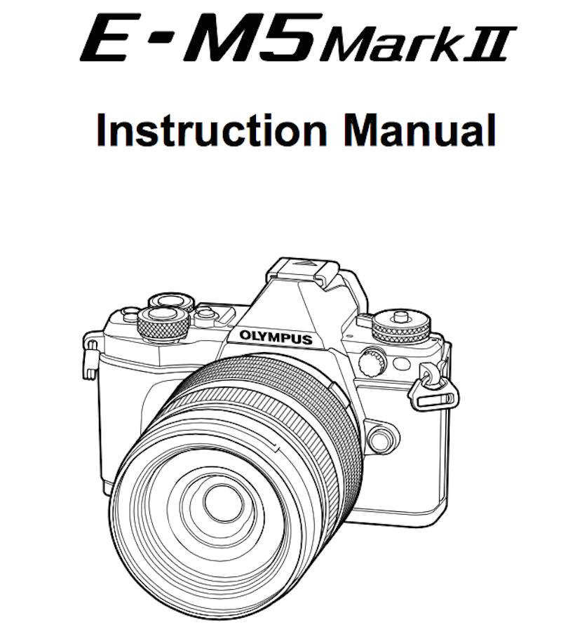 olympus-e-m5ii-users-manual