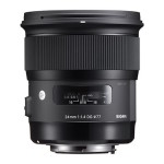 Sigma 24mm F1.4 DG HSM Art Lens Officially Announced