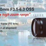 Sony FE 24-240mm f/3.5-6.3 OSS Lens Release Date Scheduled for March 12th