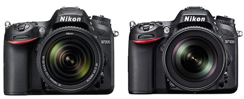 Nikon-D7200-vs-D7100