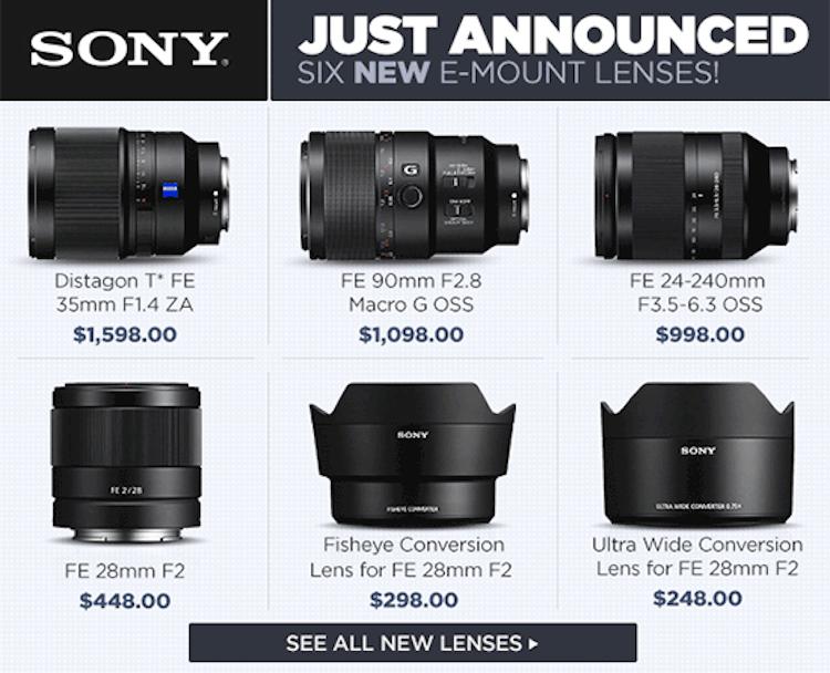 Sony-SEL35F14Z-SEL90M28G-SEL24240-SEL28F201-550x446