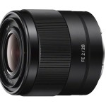 Sony FE 28mm f/2 Lens Officially Announced