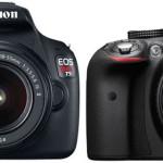 Canon 1200D vs Nikon D3300 Comparison