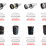 Canon USA Drops Prices on Select L Lenses