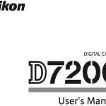 Nikon D7200 User's Manual Available Online