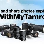 Tamron Announces #WithMyTamron Social Media Initiative