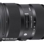 Sigma 24-35mm f/2 DG HSM Art Lens First Images Leaked