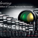 Canon Celebrates Milestone Of 110 Million Interchangeable EF Lenses Production