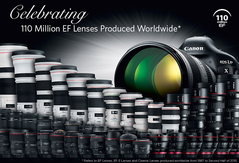 canon-celebrates-milestone-of-110-million-interchangeable-ef-lenses-production