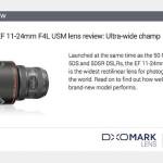 Canon EF 11-24mm f/4L USM Lens Test Results