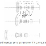 Canon Patent for EF-S 15-105mm f/2.8-5.6 STM