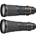 Nikon Announces AF-S Nikkor 500mm F4 and 600mm F4 Lenses