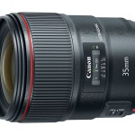 Canon EF 35mm F/1.4L II USM Lens Officially Announced