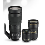 Nikon Announces 24-70mm F2.8 VR, 24mm F1.8 and 200-500 F5.6 FX lenses