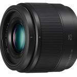 Panasonic Announces Lumix G 25mm f/1.7 ASPH. Lens