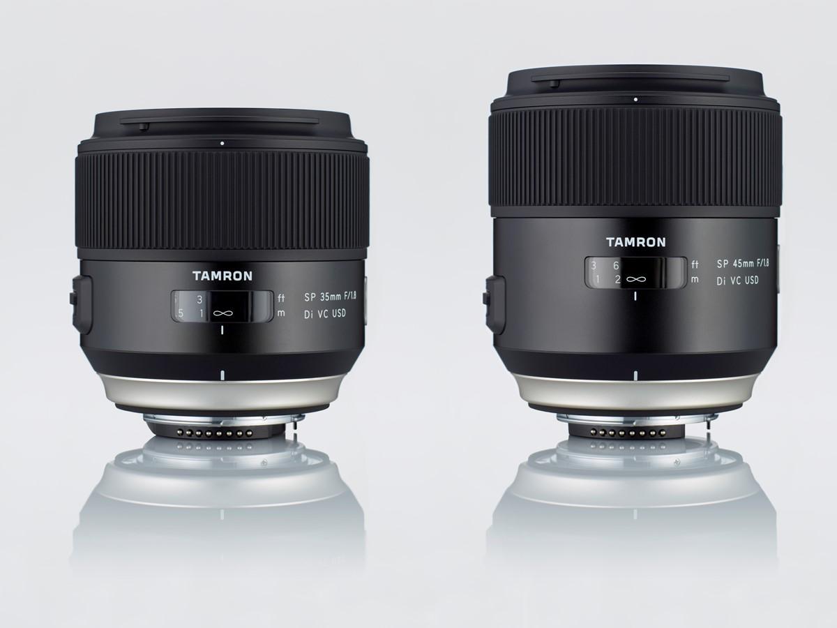 tamron-announces-sp-35mm-f1-8-di-vc-usd-and-sp-45mm-f1-8-di-vc-usd-lenses