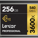 Lexar Professional 3600x and 3500x CFast 2.0 Cards