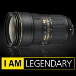 Nikon AF-S NIKKOR 24-70mm f/2.8E ED VR Lens In Stock and Shipping