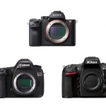 Sony A7R II vs. Canon 5DS R vs. Nikon D810 Camera Shootout