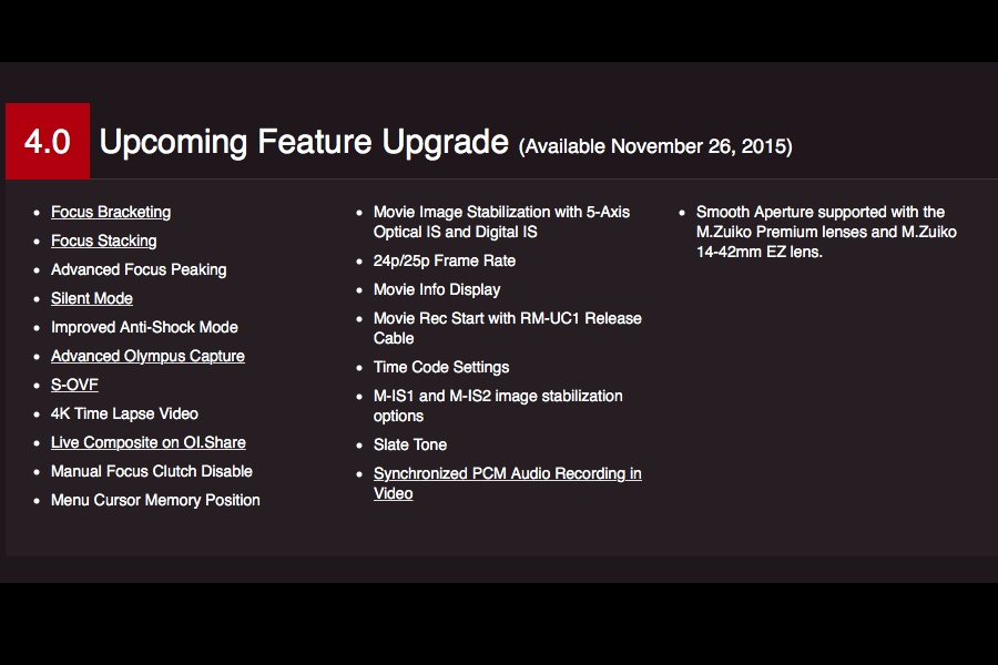 olympus-e-m1-and-e-m5ii-firmware-update-v4-0-will-be-released-on-november-26-2015