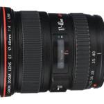 Canon Patent for EF 16-40mm f/4 Wide-Angle Zoom Lens
