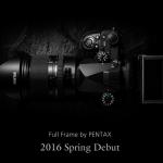 New Pentax Full Frame DSLR Camera Teaser
