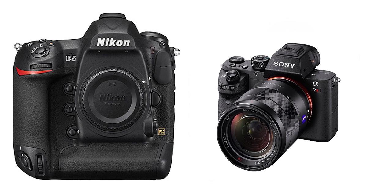 Nikon-D5-vs-Sony-A7RII
