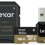 Lexar Professional 1800x microSD UHS-II Memory Cards