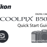 Nikon Coolpix B500 Camera Coming Soon, Manual Images Leaked