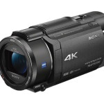 Sony Handycam FDR-AX53 Camcorder Becomes Official at CES 2016
