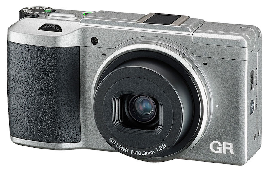 Ricoh-GR-II-Silver-Edition-camera-front
