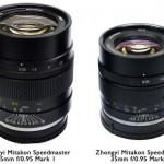 ZY Optics Released New Mitakon Speedmaster 35mm f/0.95 Mark II Lens