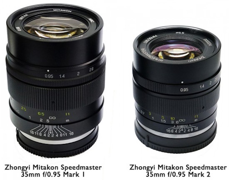 Zhongyi-Mitakon-Speedmaster-35mm-f0.95-Mark-II-mirrorless-lens