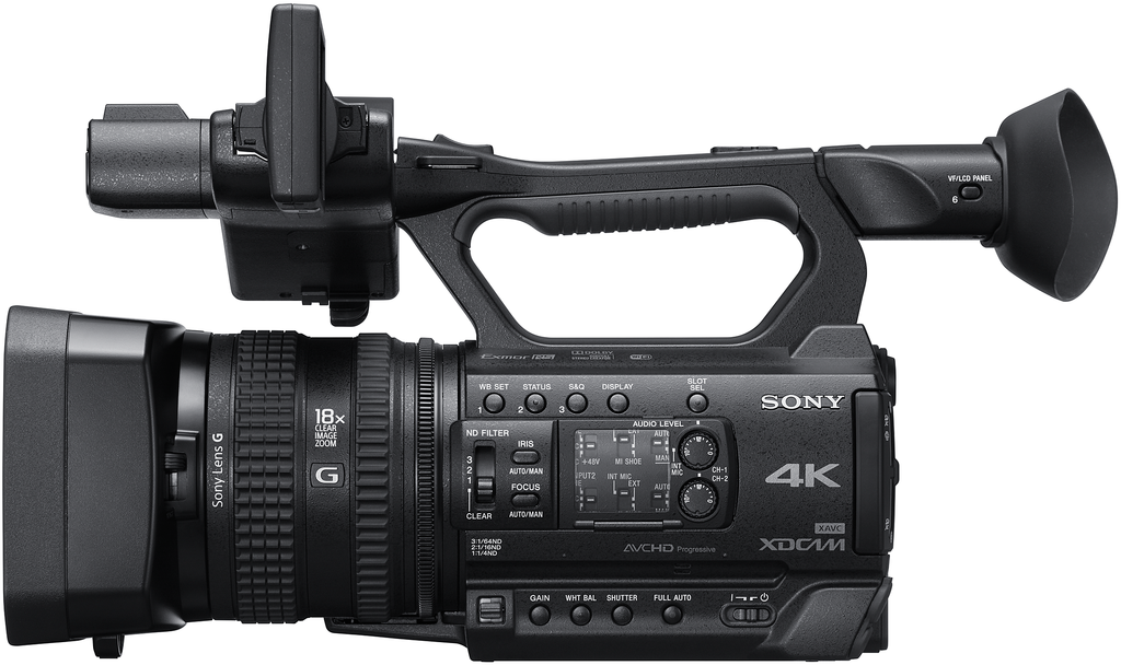 Sony PXW-Z150 Compact Professional Camcorder Announced ...