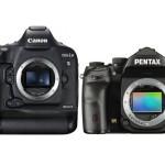 Canon 1DX Mark II vs Pentax K-1 Comparison
