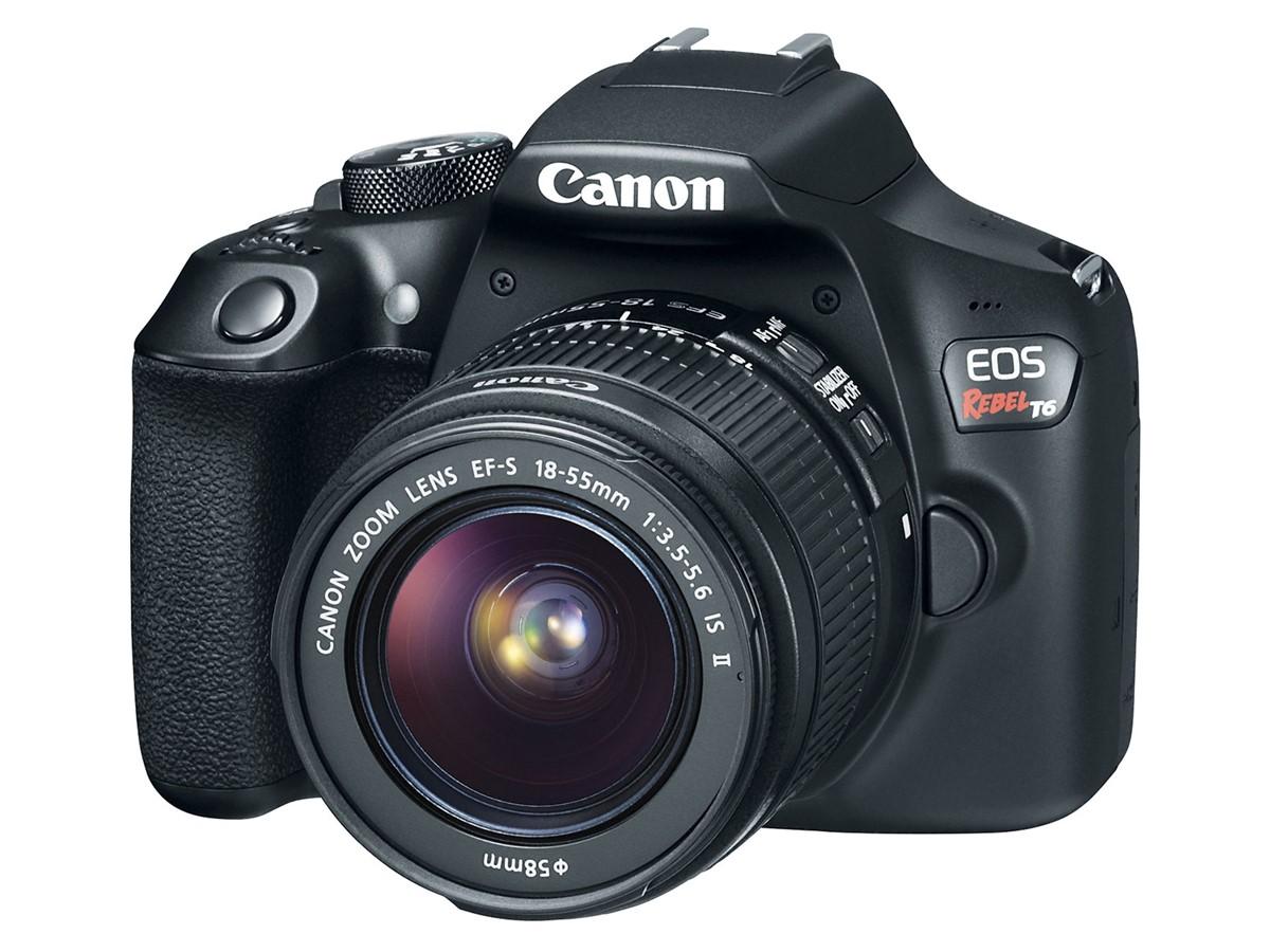 Canon EOS Rebel T6 DSLR Camera 00