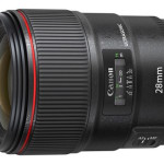 Canon Patent for EF 28mm f/1.4L USM Lens