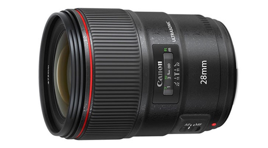Canon Patent for EF 28mm f/1.4L USM Lens