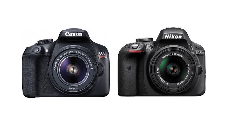 canon-rebel-t6-vs-nikon-d3300-comparison